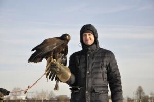 Корпоратив и тимбилдинг на природе в музее соколиной охоты