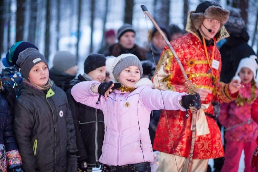 мастер-класс стрельбы из лука в эколагере Сокольник