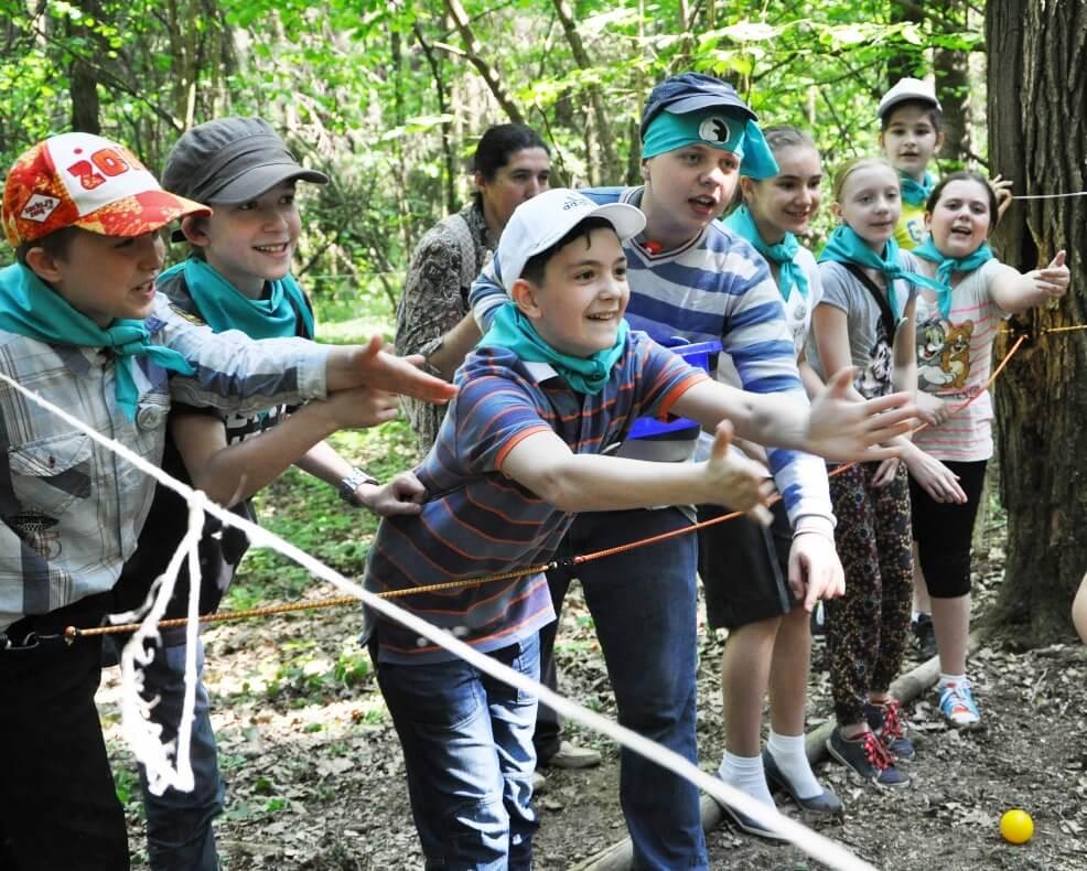 Захватывающая сказочная квест-игра для детей в эколагере Сокольник