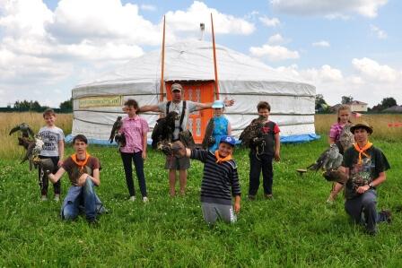 палаточный детский лагерь