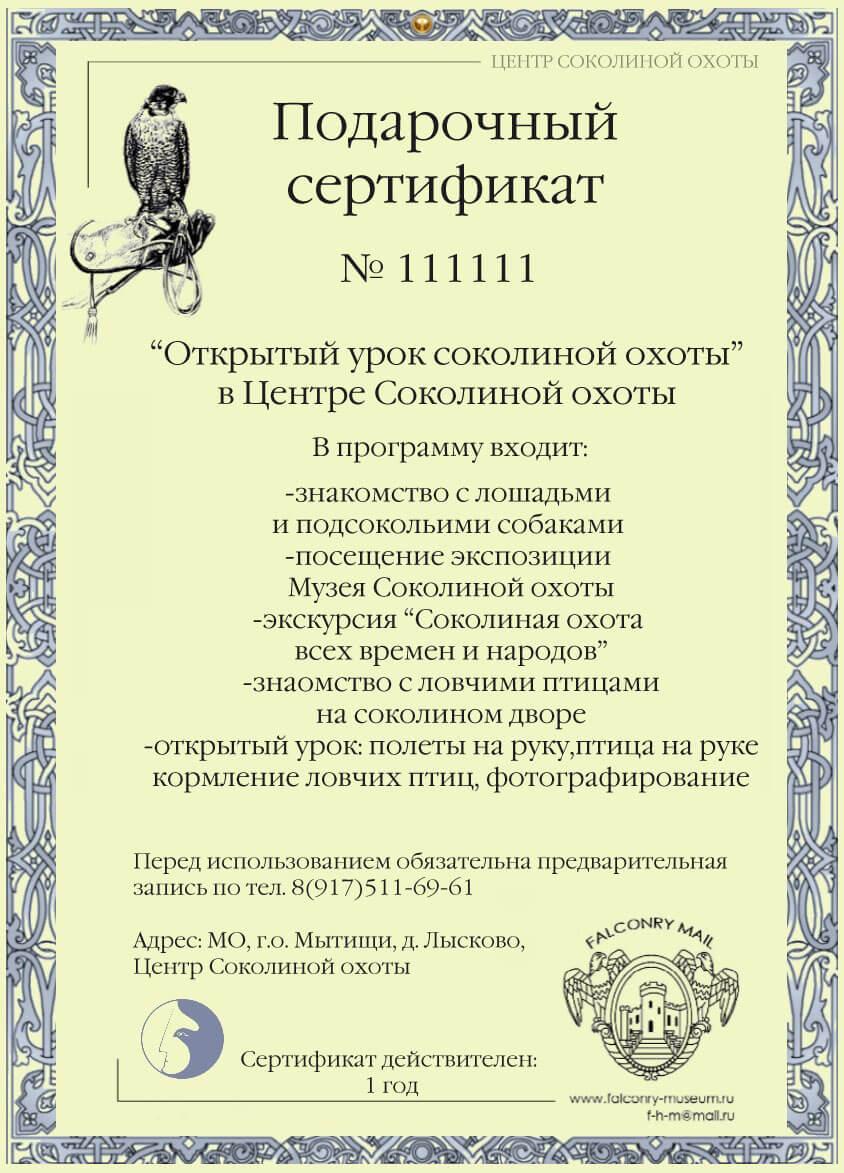 sertifikat-na-otkrytyj-urok-sokolinoj-ohoty